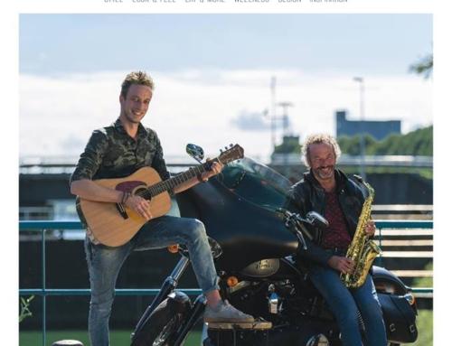 Op de cover van Anderz magazine